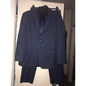 Slim Fit Navy Calvin Klein Suit